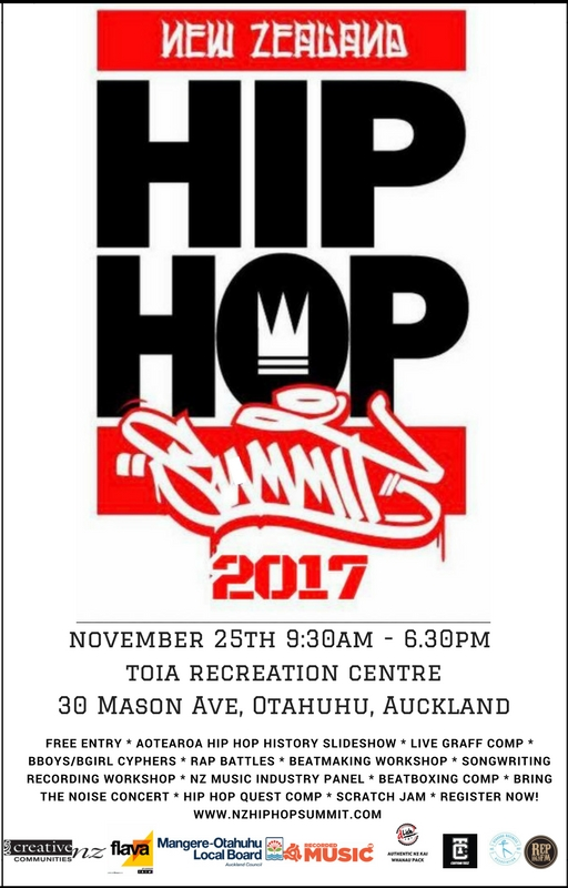 nz hip hop summit FLIER-2